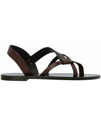 Sandały - brązowe Saint Laurent