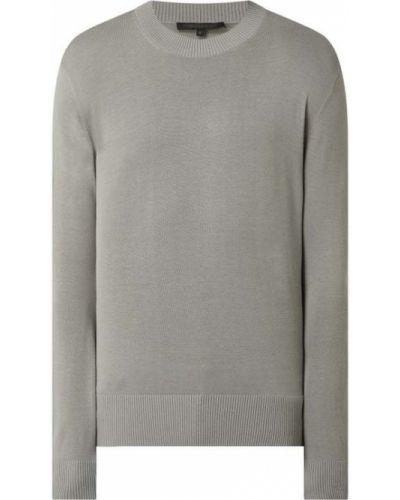 Prążkowany sweter bawełniany Drykorn