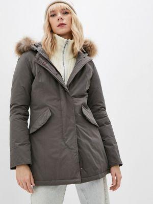 Серая зимняя куртка Canadian