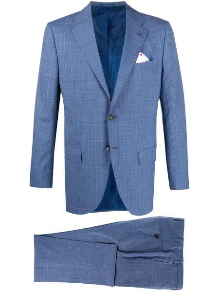 Klasyczny garnitur kostium wełniany Kiton