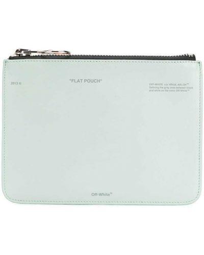 Кожаный кошелек на молнии для монет Off-white