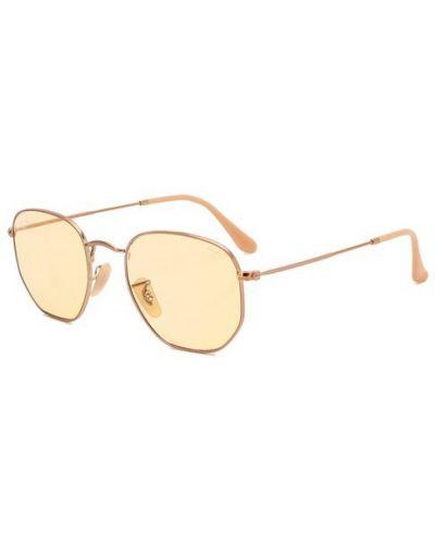 Солнцезащитные очки металлические силиконовые Ray-ban