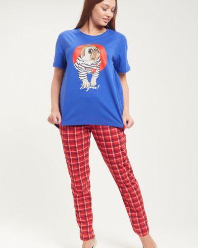 Пижама в клетку красная инсантрик