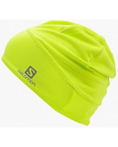 Желтая шапка осенняя Salomon