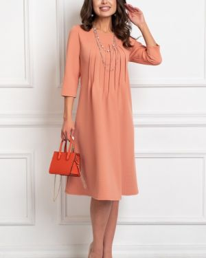 Платье классическое со складками Bellovera