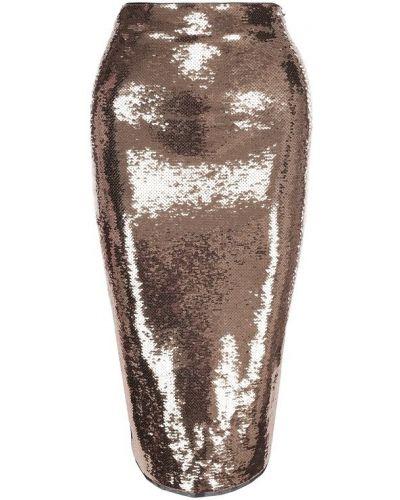 Юбка карандаш с пайетками шелковая Tom Ford