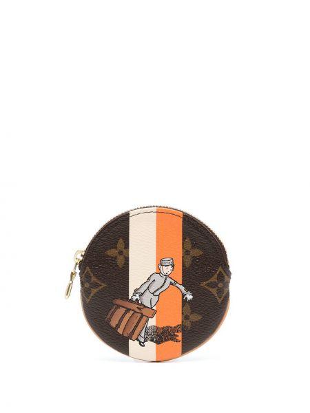 Portfel skórzany - pomarańczowy Louis Vuitton