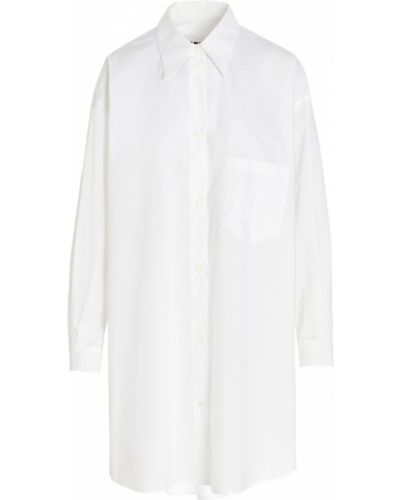 Sukienka - biała Mm6 Maison Margiela