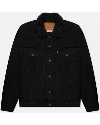 Черная джинсовая джинсовая куртка Levi's®