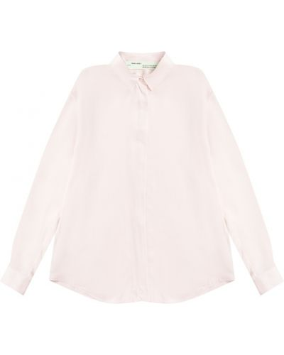 Блузка из вискозы на пуговицах Off-white