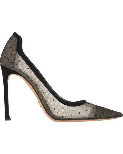 Кожаные туфли - черные Christian Dior