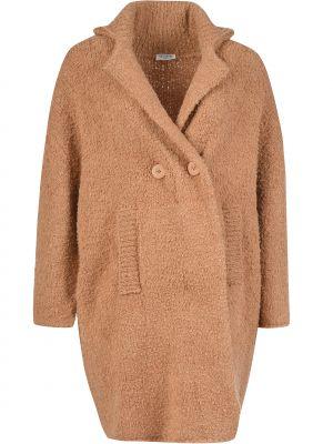 Пальто осеннее из мохера Twin-set