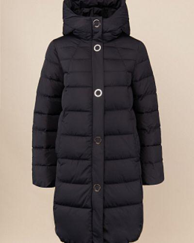 Пуховик-пальто - черный Madzerini