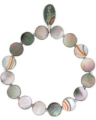 Браслет серебряного цвета Nature Bijoux