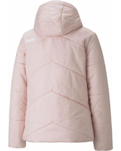 Куртка с карманами - розовая Puma