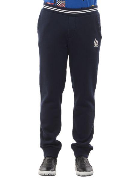 Хлопковые спортивные брюки - синие Marina Yachting