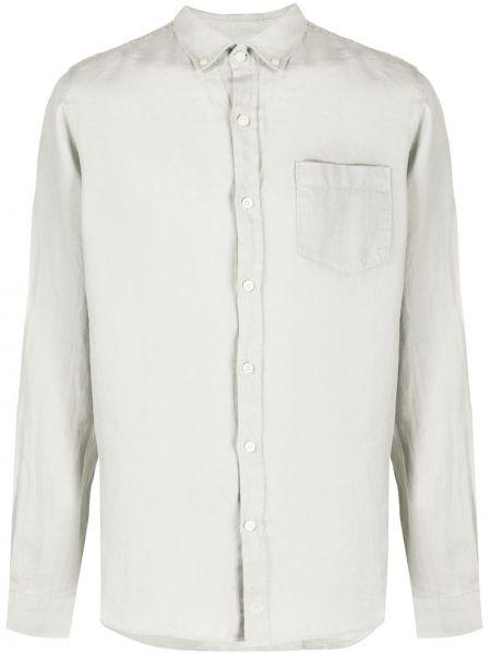 Классическая рубашка с воротником на пуговицах с карманами Ecoalf