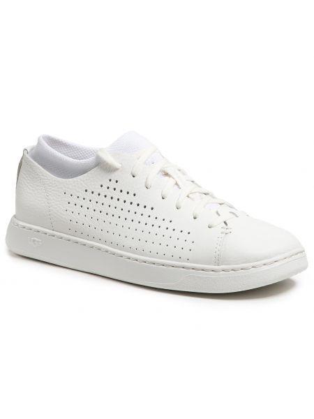 Buty sportowe skorzane - białe Ugg