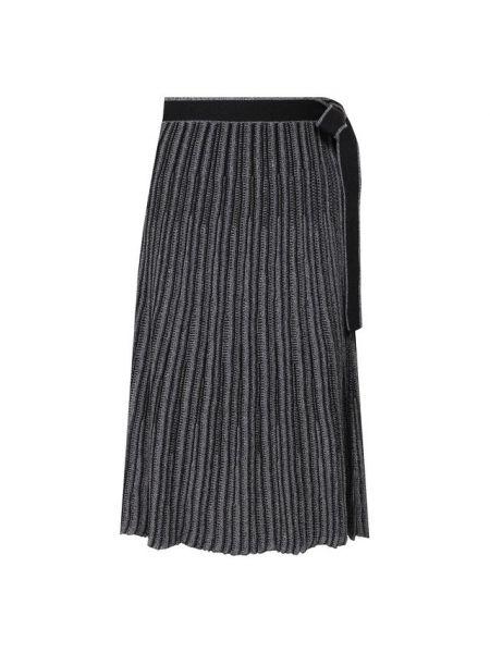 Плиссированная юбка с запахом шелковая Victoria, Victoria Beckham