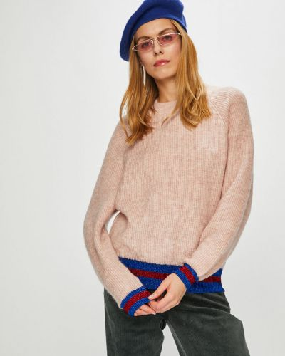 Вязаный свитер из мохера с узором Pieces