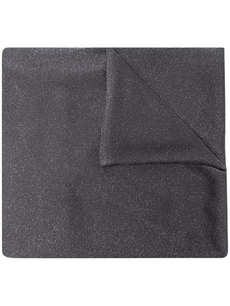 Облегченный серый шарф из вискозы Fabiana Filippi