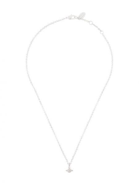 Серебряное ожерелье металлическое с декоративной отделкой Vivienne Westwood