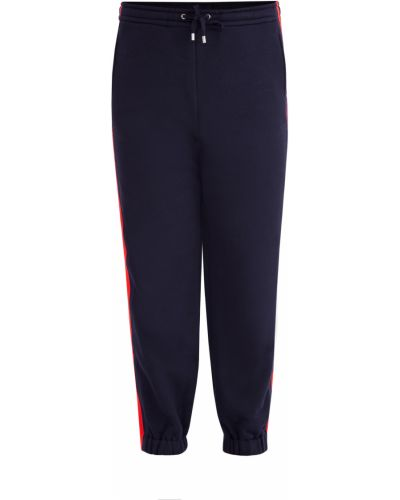 Спортивные брюки на резинке в полоску Gucci