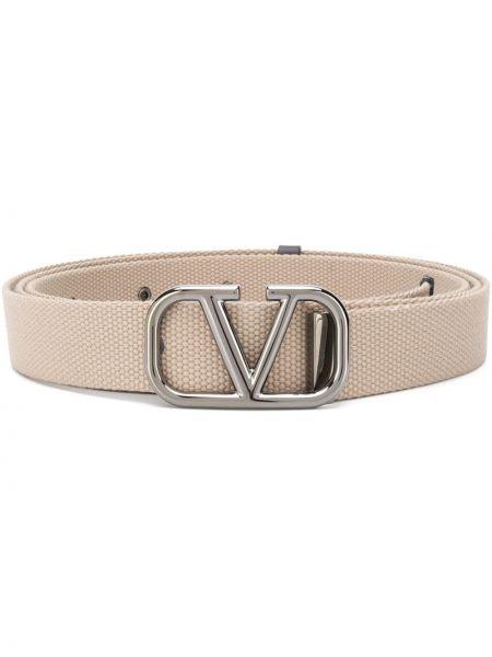 Pasek z paskiem srebrny Valentino