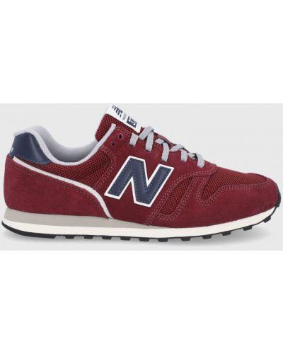 Sneakersy skorzane sznurowane New Balance