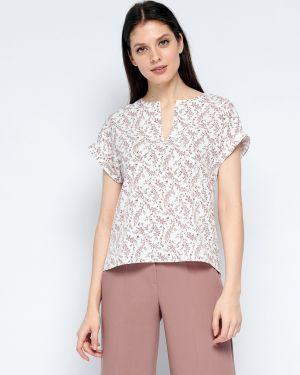 Повседневная прямая блузка с короткими рукавами Fiato