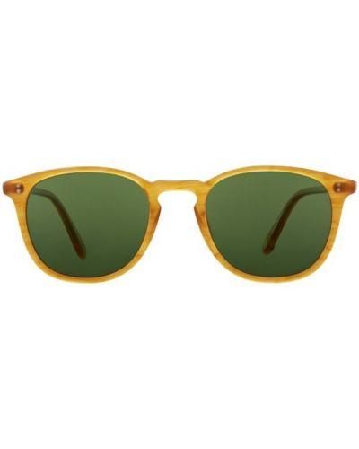Żółte okulary Garrett Leight