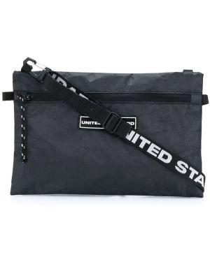 Черная сумка-мессенджер United Standard