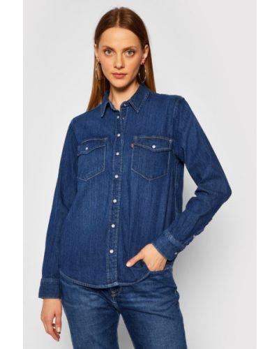 Koszula jeansowa - granatowa Levi's
