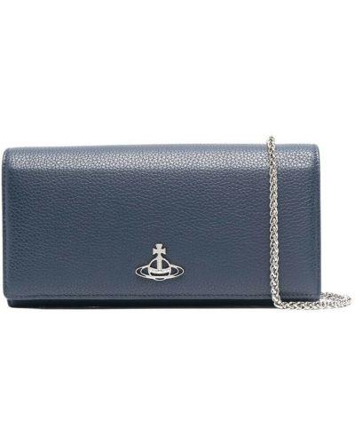 Niebieski portfel Vivienne Westwood