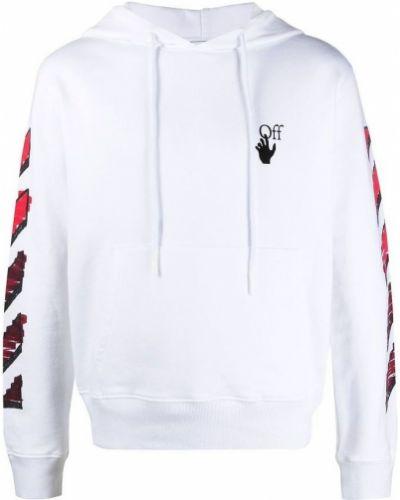 Biała bluza z kapturem Off-white