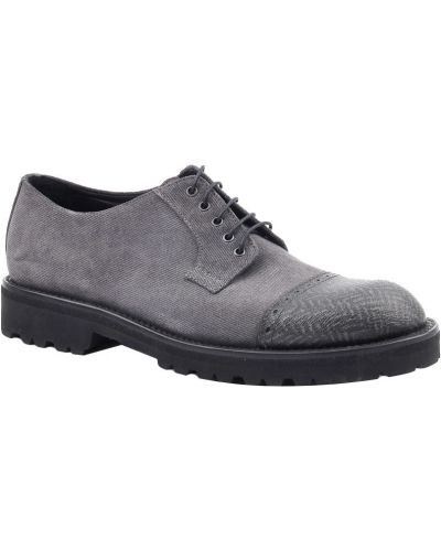 Серые туфли Armani Collezioni