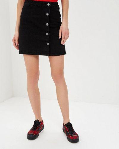 Джинсовая юбка черная Blendshe