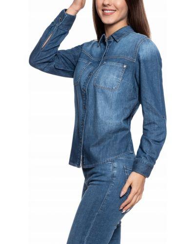Koszula jeansowa - niebieska Mustang