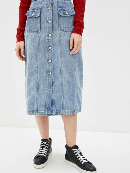 Джинсовое платье клубное весеннее Concept Club