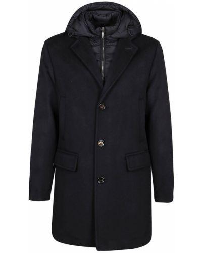Niebieski płaszcz Moorer