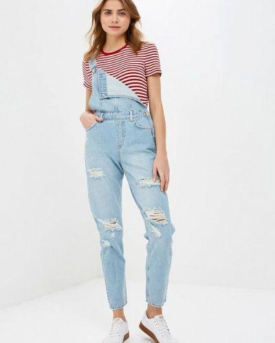 Голубой джинсовый комбинезон Colin's