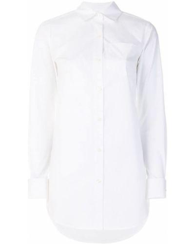 Классическая рубашка приталенная с длинным рукавом Michael Kors