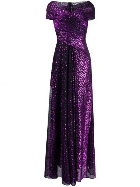 Вечернее платье мини с V-образным вырезом Talbot Runhof