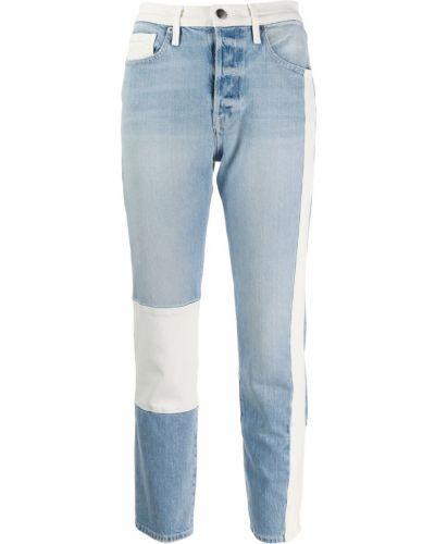 Укороченные джинсы mom слим фит Frame