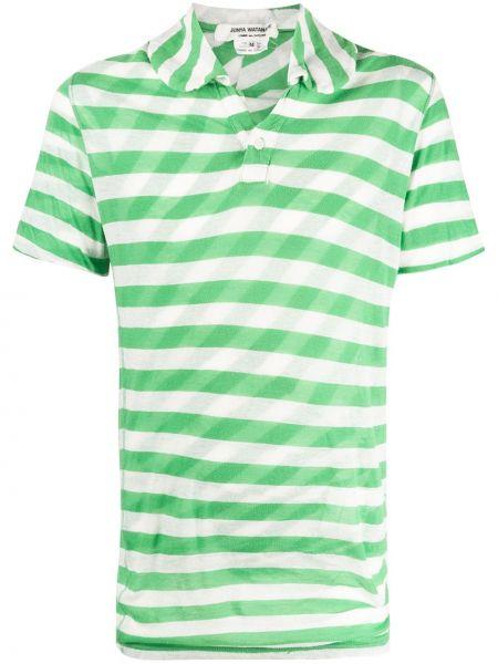 Классическая рубашка с короткими рукавами на пуговицах Junya Watanabe Comme Des Garçons Pre-owned
