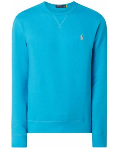 Bluza bawełniana turkusowa Polo Ralph Lauren