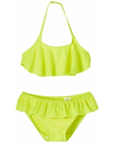 Bikini - żółty Name It