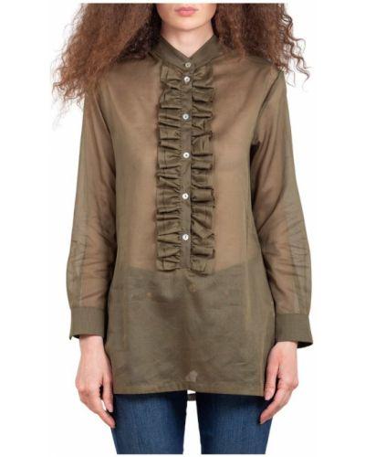 Brązowa koszula Maesta