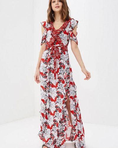 Красное платье весеннее River Island