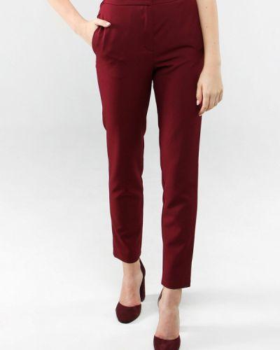 Классические брюки со стрелками бордовый 7arrows